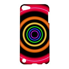 Neon Light Abstract Pattern Lines Apple Ipod Touch 5 Hardshell Case