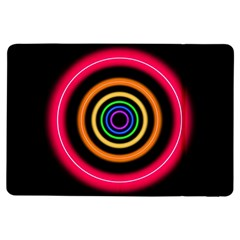 Neon Light Abstract Pattern Lines Ipad Air Flip by Sapixe