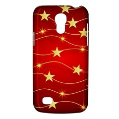 Stars Background Christmas Decoration Samsung Galaxy S4 Mini (gt I9190) Hardshell Case  by Sapixe