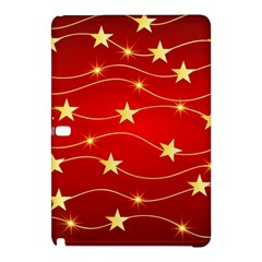 Stars Background Christmas Decoration Samsung Galaxy Tab Pro 10 1 Hardshell Case by Sapixe