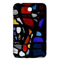 Art Bright Lead Glass Pattern Samsung Galaxy Tab 3 (7 ) P3200 Hardshell Case  by Sapixe