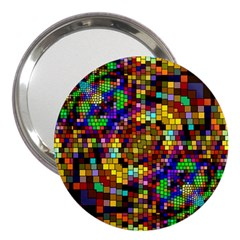 Color Mosaic Background Wall 3  Handbag Mirrors by Sapixe