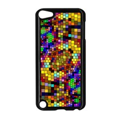 Color Mosaic Background Wall Apple Ipod Touch 5 Case (black) by Sapixe