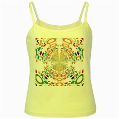 Wallpaper Pattern Colorful Color Yellow Spaghetti Tank by Sapixe