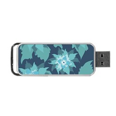 Graphic Design Wallpaper Abstract Portable Usb Flash (two Sides)