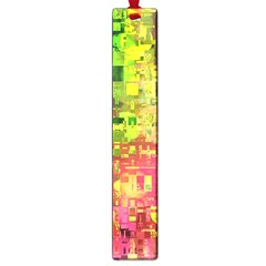 Color Abstract Artifact Pixel Large Book Marks by Sapixe