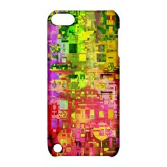 Color Abstract Artifact Pixel Apple Ipod Touch 5 Hardshell Case With Stand by Sapixe