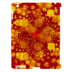 Christmas Star Advent Background Apple Ipad 3/4 Hardshell Case (compatible With Smart Cover) by Sapixe