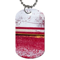 Boat Chipped Close Up Damaged Dog Tag (two Sides)