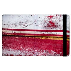 Boat Chipped Close Up Damaged Apple Ipad 3/4 Flip Case by Sapixe