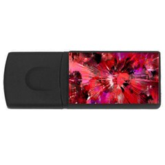Color Abstract Background Textures Rectangular Usb Flash Drive