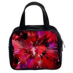 Color Abstract Background Textures Classic Handbag (two Sides)