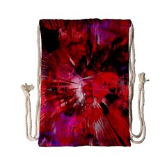Color Abstract Background Textures Drawstring Bag (small)