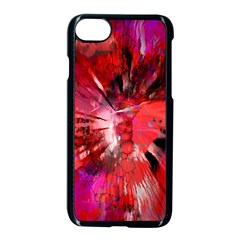 Color Abstract Background Textures Apple Iphone 8 Seamless Case (black)
