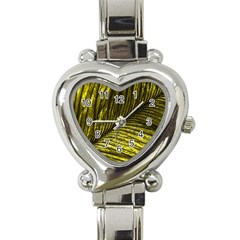 Feather Macro Bird Plumage Nature Heart Italian Charm Watch by Sapixe