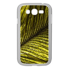 Feather Macro Bird Plumage Nature Samsung Galaxy Grand Duos I9082 Case (white) by Sapixe