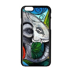 Graffiti The Art Of Spray Mural Apple Iphone 6/6s Black Enamel Case