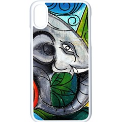 Graffiti The Art Of Spray Mural Apple Iphone X Seamless Case (white) by Sapixe