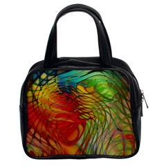 Texture Art Color Pattern Classic Handbag (two Sides)