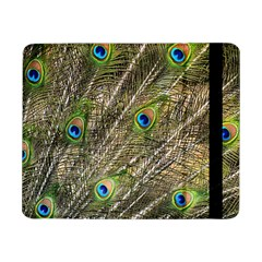 Peacock Feathers Color Plumage Green Samsung Galaxy Tab Pro 8 4  Flip Case by Sapixe
