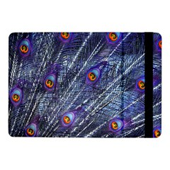 Peacock Feathers Color Plumage Blue Samsung Galaxy Tab Pro 10 1  Flip Case