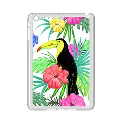 Leaves Tropical Nature Green Plant Ipad Mini 2 Enamel Coated Cases by Sapixe
