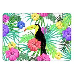 Leaves Tropical Nature Green Plant Samsung Galaxy Tab 8 9  P7300 Flip Case