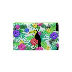 Leaves Tropical Nature Green Plant Cosmetic Bag (xs)