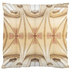 Wells Cathedral Wells Cathedral Large Cushion Case (two Sides) by Sapixe