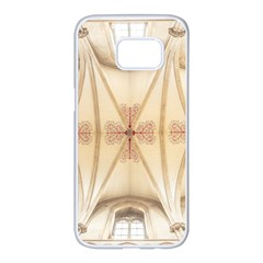 Wells Cathedral Wells Cathedral Samsung Galaxy S7 Edge White Seamless Case