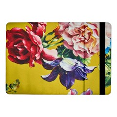 Textile Printing Flower Rose Cover Samsung Galaxy Tab Pro 10 1  Flip Case