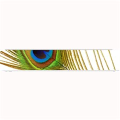 Peacock Feather Plumage Colorful Small Bar Mats