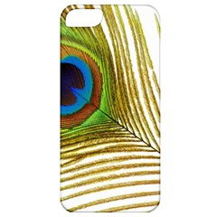 Peacock Feather Plumage Colorful Apple Iphone 5 Classic Hardshell Case