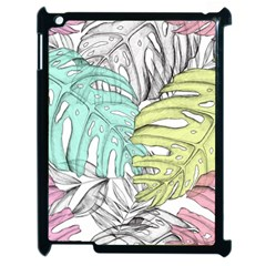 Leaves Tropical Nature Plant Apple Ipad 2 Case (black)