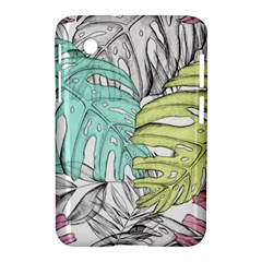 Leaves Tropical Nature Plant Samsung Galaxy Tab 2 (7 ) P3100 Hardshell Case  by Sapixe
