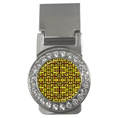 Red Black Yellow Money Clips (cz)