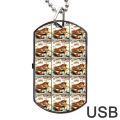 Venice Dog Tag Usb Flash (two Sides)