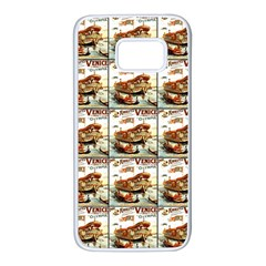 Venice Samsung Galaxy S7 White Seamless Case