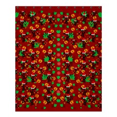 Christmas Time With Santas Helpers Shower Curtain 60  X 72  (medium)  by pepitasart