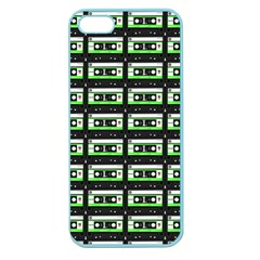Green Cassette Apple Seamless Iphone 5 Case (color)
