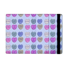 Valentine Hearts Blue Ipad Mini 2 Flip Cases by snowwhitegirl
