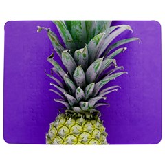 Pineapple Purple Jigsaw Puzzle Photo Stand (rectangular) by snowwhitegirl