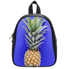 Pineapple Blue School Bag (small)