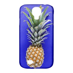 Pineapple Blue Samsung Galaxy S4 Classic Hardshell Case (pc+silicone)