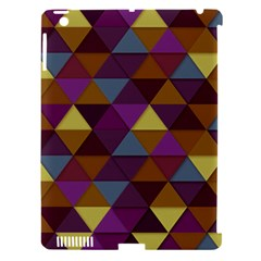 Fall Geometric Pattern Apple Ipad 3/4 Hardshell Case (compatible With Smart Cover) by snowwhitegirl