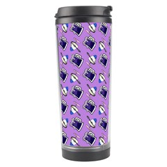 Kawaii Grape Rootbeer Travel Tumbler by snowwhitegirl