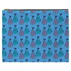 Pears Aqua Cosmetic Bag (xxxl) by snowwhitegirl