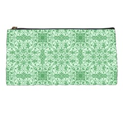 Ornamental Green Pencil Cases by snowwhitegirl