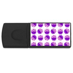 Kawaii Grape Jam Jar Pattern Rectangular Usb Flash Drive