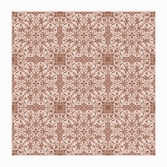Ornamental Brown Medium Glasses Cloth (2 Side) by snowwhitegirl